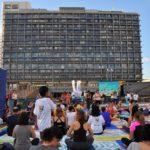 """הפקת פסטיבל יום היוגה הבינלאומי - הפקת אירועי חוץ, """"גוטמן הפקות"""" 052-9558343"""